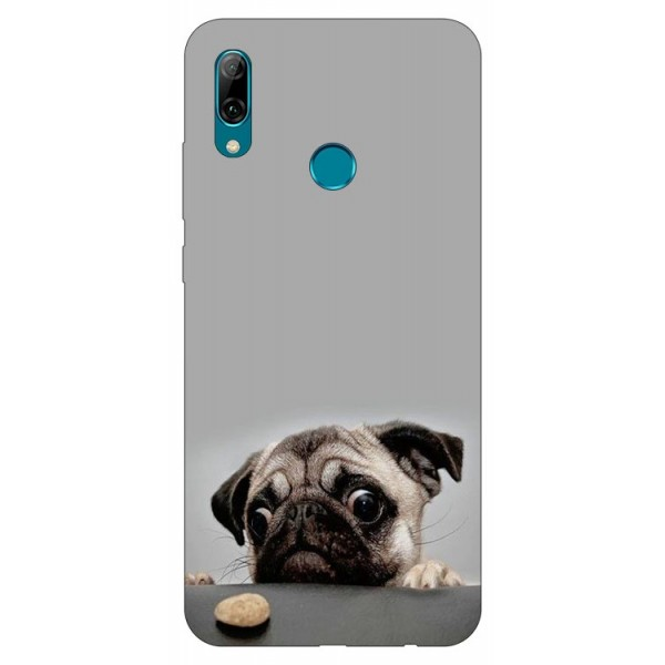 Husa Silicon Soft Upzz Print Huawei P Smart 2019 Model Dog imagine itelmobile.ro 2021