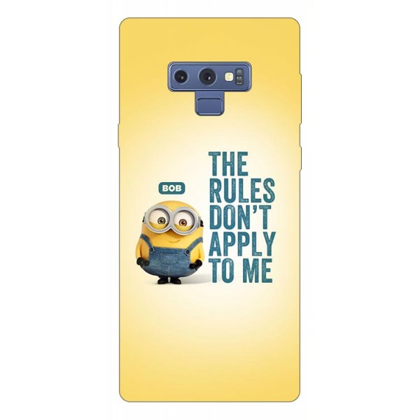 Husa Silicon Soft Upzz Print Samsung Galaxy Note 9 Model Bob imagine itelmobile.ro 2021