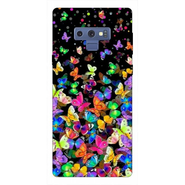 Husa Silicon Soft Upzz Print Samsung Galaxy Note 9 Model Colorature imagine itelmobile.ro 2021