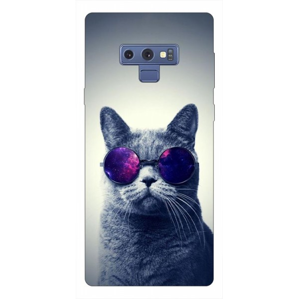 Husa Silicon Soft Upzz Print Samsung Galaxy Note 9 Model Cool Cat imagine itelmobile.ro 2021