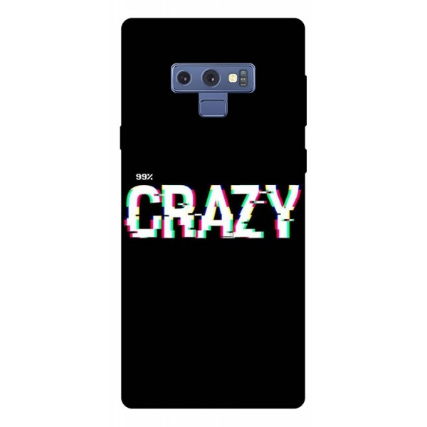 Husa Silicon Soft Upzz Print Samsung Galaxy Note 9 Model Crazy imagine itelmobile.ro 2021