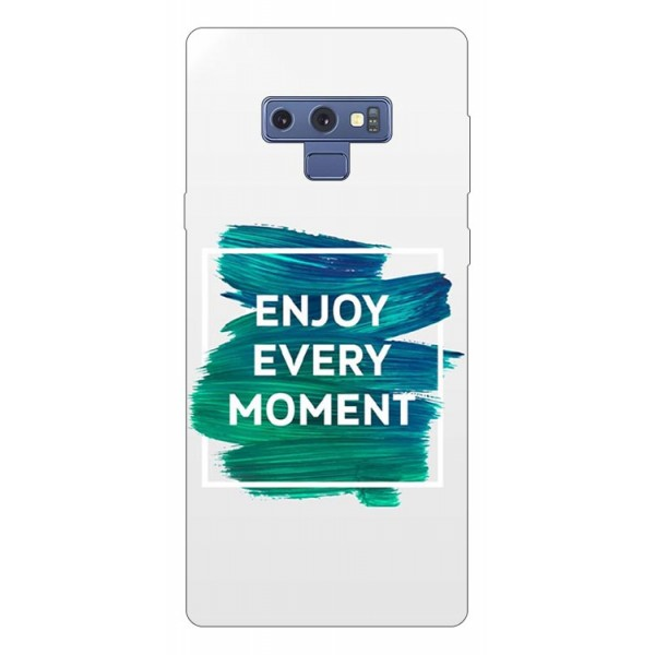 Husa Silicon Soft Upzz Print Samsung Galaxy Note 9 Model Enjoy imagine itelmobile.ro 2021