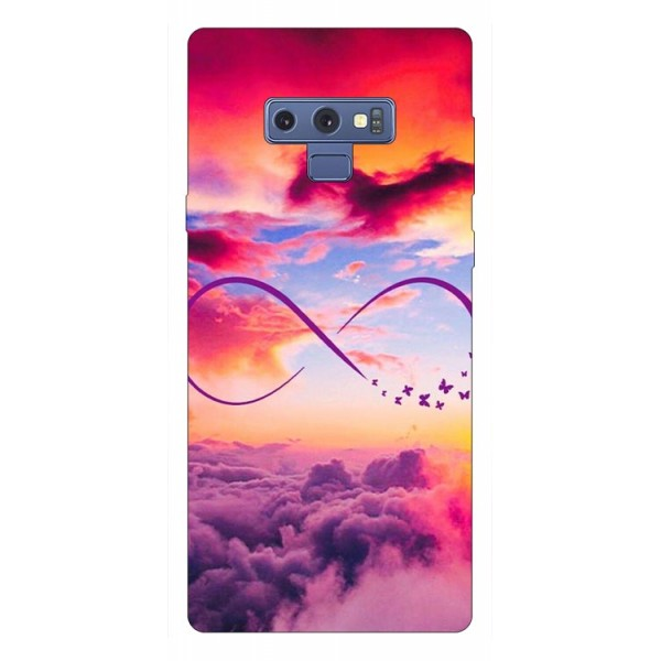 Husa Silicon Soft Upzz Print Samsung Galaxy Note 9 Model Infinity imagine itelmobile.ro 2021
