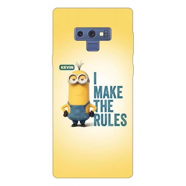 Husa Silicon Soft Upzz Print Samsung Galaxy Note 9 Model Kevin imagine itelmobile.ro 2021