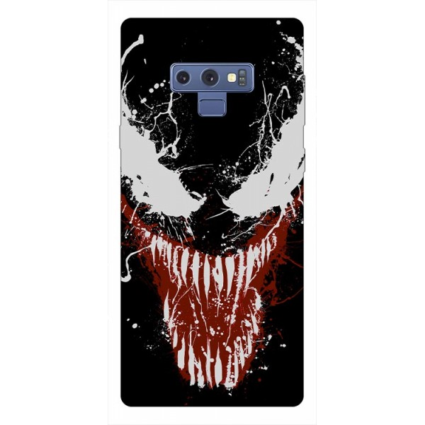 Husa Silicon Soft Upzz Print Samsung Galaxy Note 9 Model Monster imagine itelmobile.ro 2021