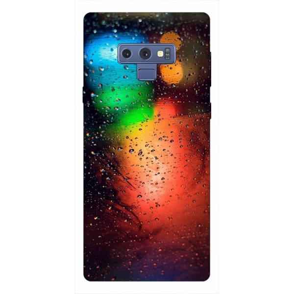 Husa Silicon Soft Upzz Print Samsung Galaxy Note 9 Model Multicolor imagine itelmobile.ro 2021