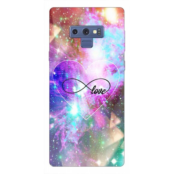 Husa Silicon Soft Upzz Print Samsung Galaxy Note 9 Model Neon Love imagine itelmobile.ro 2021