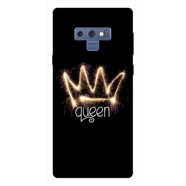Husa Silicon Soft Upzz Print Samsung Galaxy Note 9 Model Queen imagine itelmobile.ro 2021