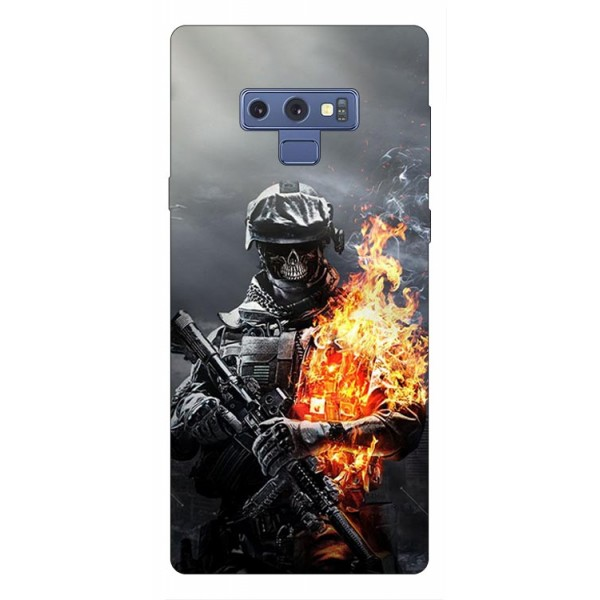 Husa Silicon Soft Upzz Print Samsung Galaxy Note 9 Model Solider imagine itelmobile.ro 2021