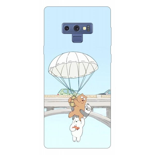 Husa Silicon Soft Upzz Print Samsung Galaxy Note 9 Model Three Bears imagine itelmobile.ro 2021