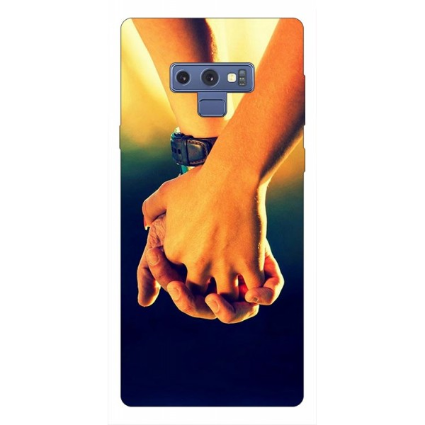 Husa Silicon Soft Upzz Print Samsung Galaxy Note 9 Model Together imagine itelmobile.ro 2021