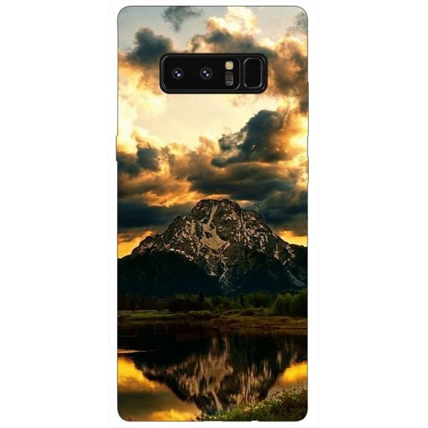 Husa Silicon Soft Upzz Print Samsung Galaxy Note 8 Model Apus imagine itelmobile.ro 2021