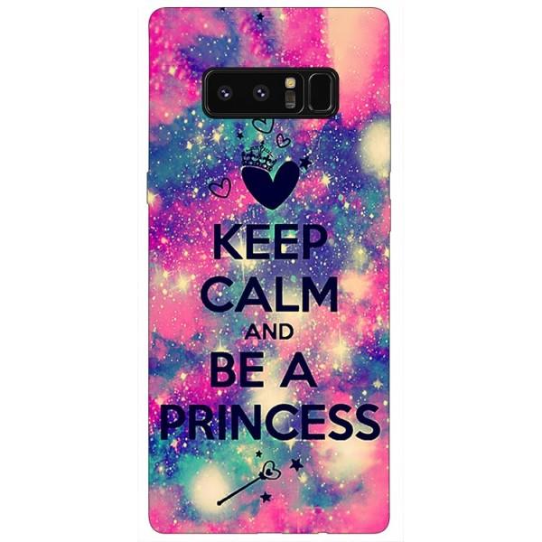 Husa Silicon Soft Upzz Print Samsung Galaxy Note 8 Model Be Princess imagine itelmobile.ro 2021