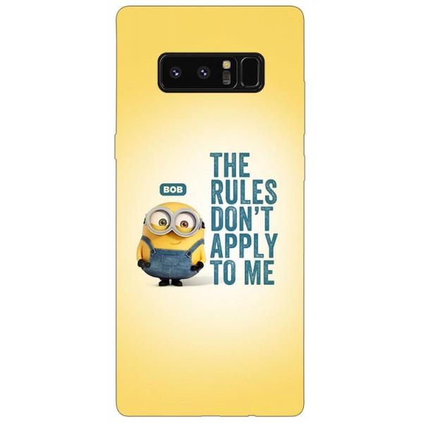 Husa Silicon Soft Upzz Print Samsung Galaxy Note 8 Model Bob imagine itelmobile.ro 2021