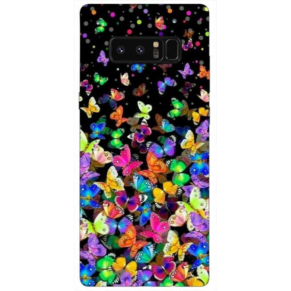 Husa Silicon Soft Upzz Print Samsung Galaxy Note 8 Model Colorature imagine itelmobile.ro 2021
