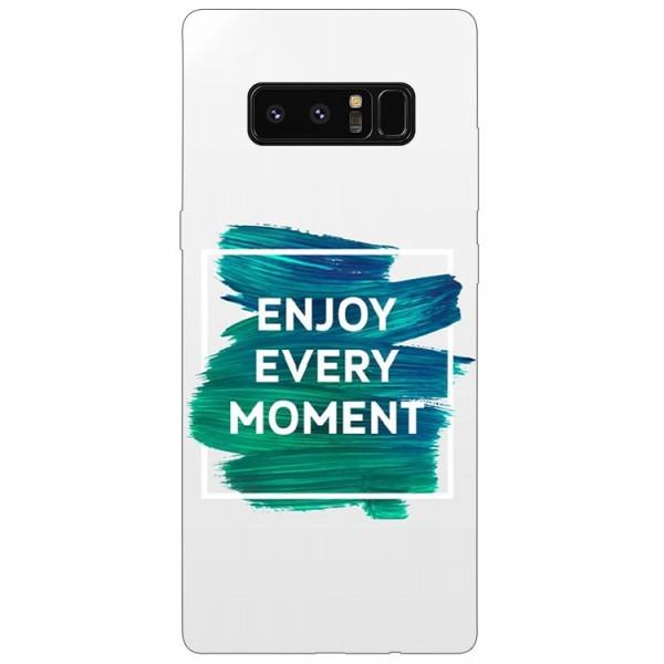 Husa Silicon Soft Upzz Print Samsung Galaxy Note 8 Model Enjoy imagine itelmobile.ro 2021