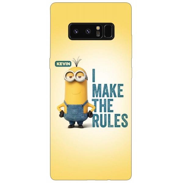 Husa Silicon Soft Upzz Print Samsung Galaxy Note 8 Model Kevin imagine itelmobile.ro 2021