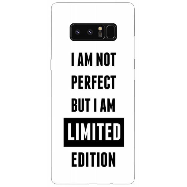 Husa Silicon Soft Upzz Print Samsung Galaxy Note 8 Model Limited Edition imagine itelmobile.ro 2021