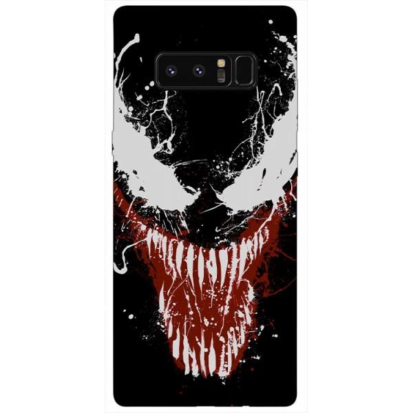 Husa Silicon Soft Upzz Print Samsung Galaxy Note 8 Model Monster imagine itelmobile.ro 2021