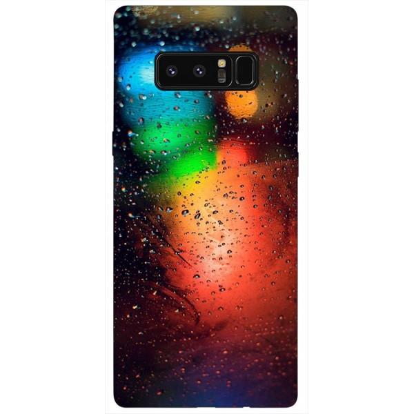 Husa Silicon Soft Upzz Print Samsung Galaxy Note 8 Model Multicolor imagine itelmobile.ro 2021