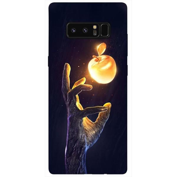 Husa Silicon Soft Upzz Print Samsung Galaxy Note 8 Model Reach imagine itelmobile.ro 2021