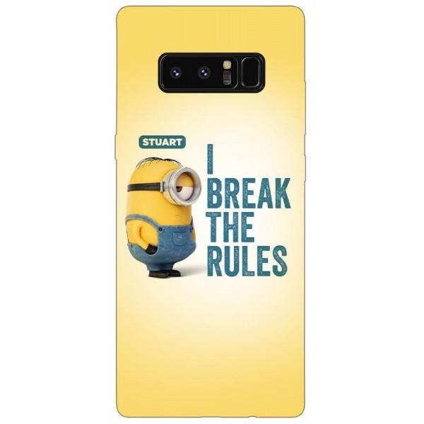 Husa Silicon Soft Upzz Print Samsung Galaxy Note 8 Model Stuart imagine itelmobile.ro 2021