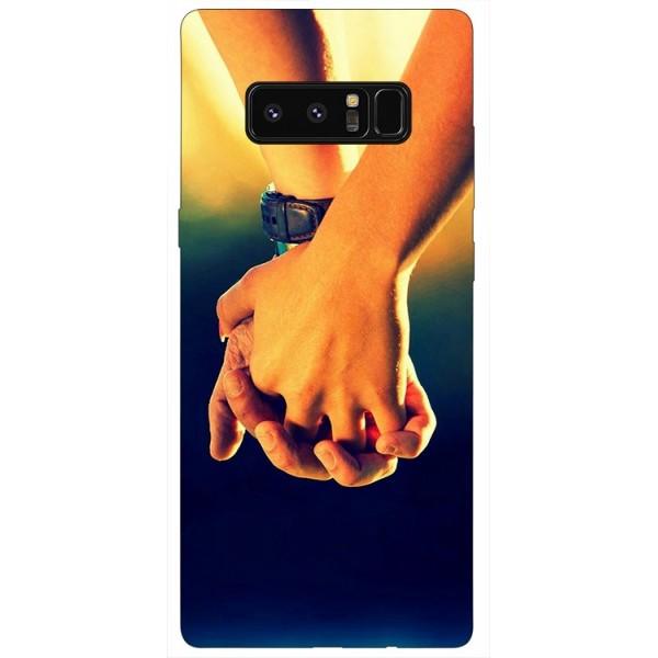 Husa Silicon Soft Upzz Print Samsung Galaxy Note 8 Model Together imagine itelmobile.ro 2021