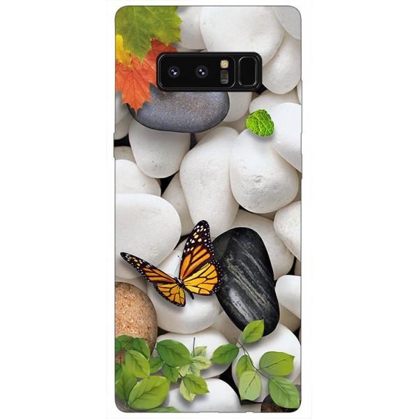 Husa Silicon Soft Upzz Print Samsung Galaxy Note 8 Model Zen imagine itelmobile.ro 2021