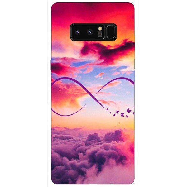 Husa Silicon Soft Upzz Print Samsung Galaxy Note 8 Model Infinity imagine itelmobile.ro 2021