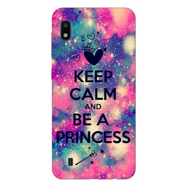 Husa Silicon Soft Upzz Print Samsung Galaxy A10 Model Be Princess imagine itelmobile.ro 2021