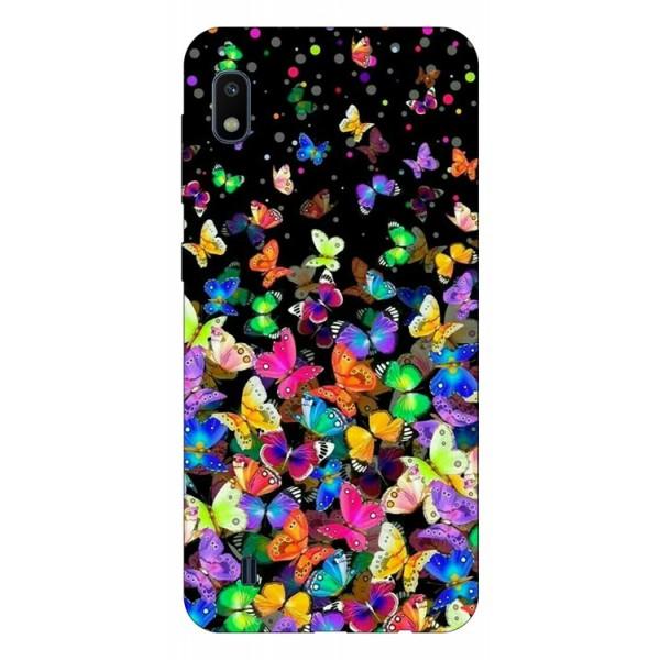 Husa Silicon Soft Upzz Print Samsung Galaxy A10 Model Colorature imagine itelmobile.ro 2021