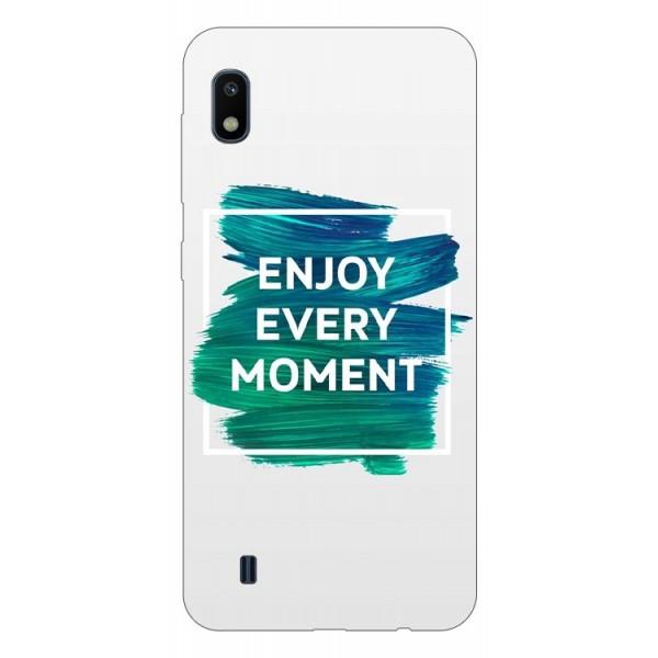 Husa Silicon Soft Upzz Print Samsung Galaxy A10 Model Enjoy imagine itelmobile.ro 2021