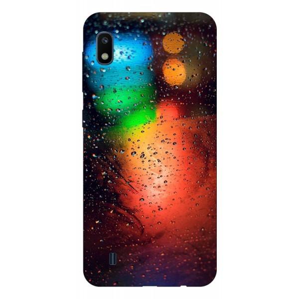 Husa Silicon Soft Upzz Print Samsung Galaxy A10 Model Multicolor imagine itelmobile.ro 2021