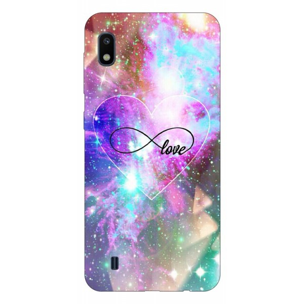 Husa Silicon Soft Upzz Print Samsung Galaxy A10 Model Neon Love imagine itelmobile.ro 2021