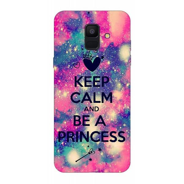 Husa Silicon Soft Upzz Print Samsung A6 2018 Model Be Princess imagine itelmobile.ro 2021