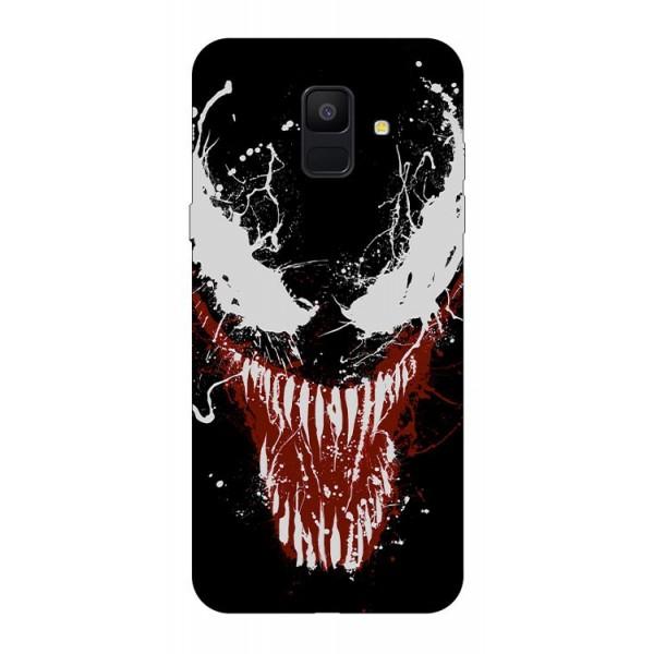 Husa Silicon Soft Upzz Print Samsung A6 2018 Model Monster imagine itelmobile.ro 2021