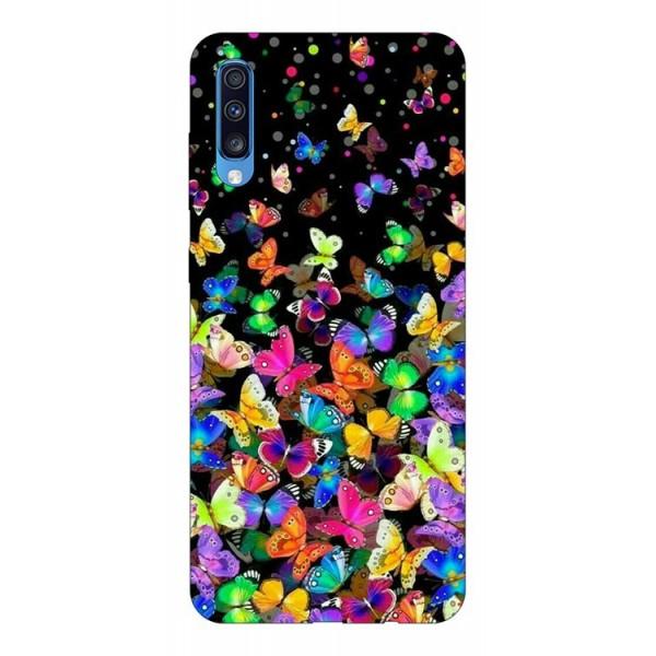Husa Silicon Soft Upzz Print Samsung A70 Model Colorature imagine itelmobile.ro 2021