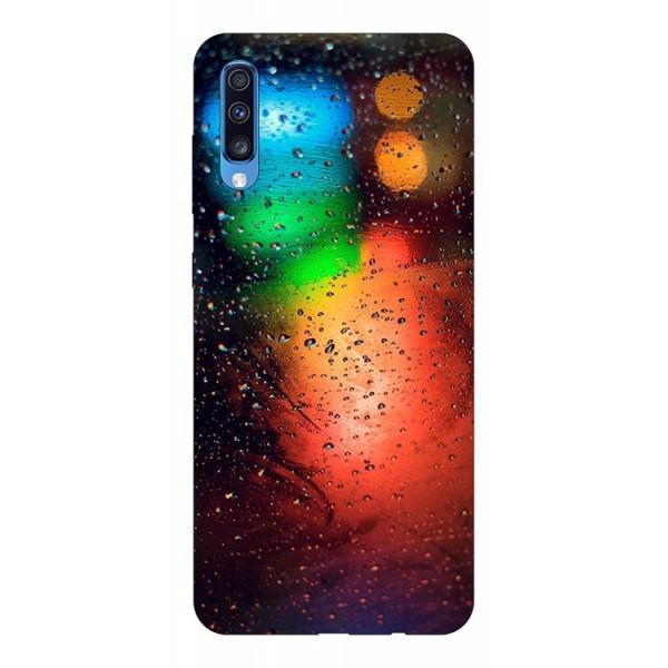 Husa Silicon Soft Upzz Print Samsung A70 Model Multicolor imagine itelmobile.ro 2021
