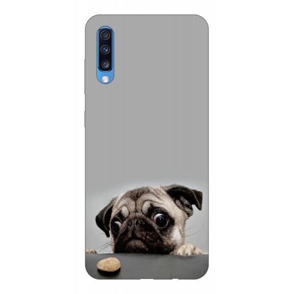 Husa Silicon Soft Upzz Print Samsung A70 Model Dog imagine itelmobile.ro 2021