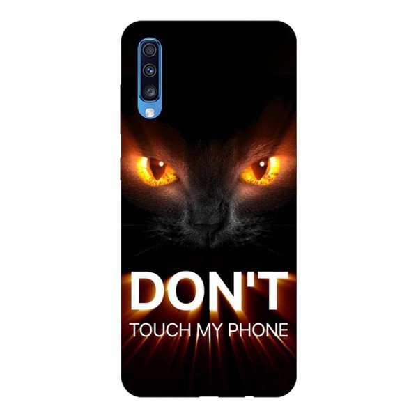 Husa Silicon Soft Upzz Print Samsung A70 Model Touch My Phone 1 imagine itelmobile.ro 2021