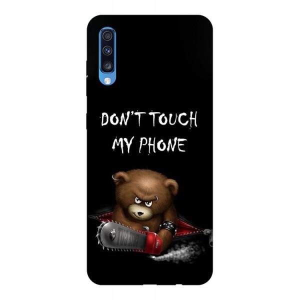 Husa Silicon Soft Upzz Print Samsung A70 Model Touch My Phone 2 imagine itelmobile.ro 2021