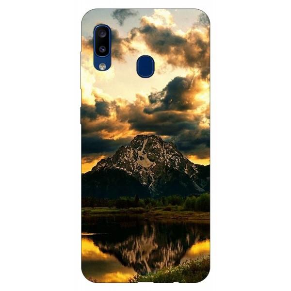 Husa Silicon Soft Upzz Print Samsung Galaxy A20 Model Apus imagine itelmobile.ro 2021