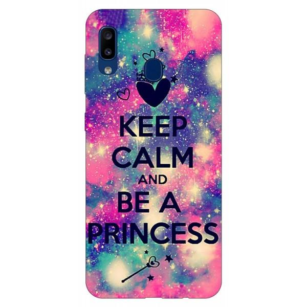 Husa Silicon Soft Upzz Print Samsung Galaxy A20 Model Be Princess imagine itelmobile.ro 2021