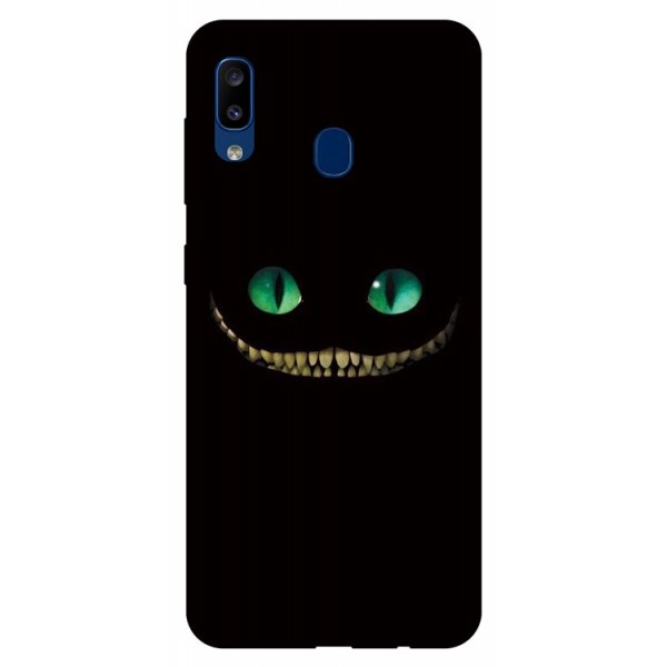 Husa Silicon Soft Upzz Print Samsung Galaxy A20 Model Dragon imagine itelmobile.ro 2021