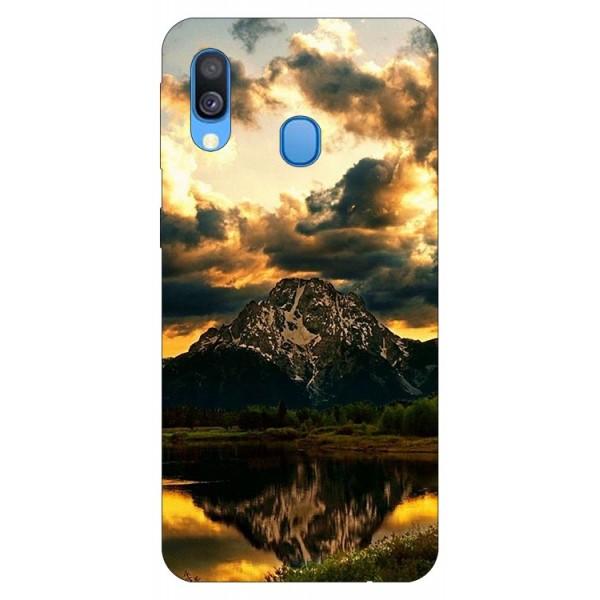 Husa Silicon Soft Upzz Print Samsung Galaxy A40 Model Apus imagine itelmobile.ro 2021