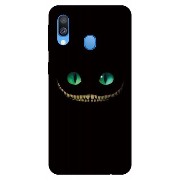 Husa Silicon Soft Upzz Print Samsung Galaxy A40 Model Dragon imagine itelmobile.ro 2021