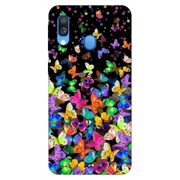 Husa Silicon Soft Upzz Print Samsung Galaxy A40 Model Colorature imagine itelmobile.ro 2021