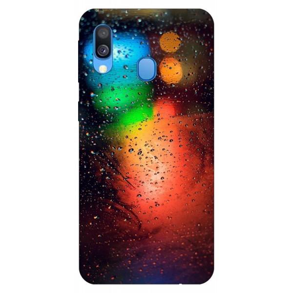 Husa Silicon Soft Upzz Print Samsung Galaxy A40 Model Multicolor imagine itelmobile.ro 2021