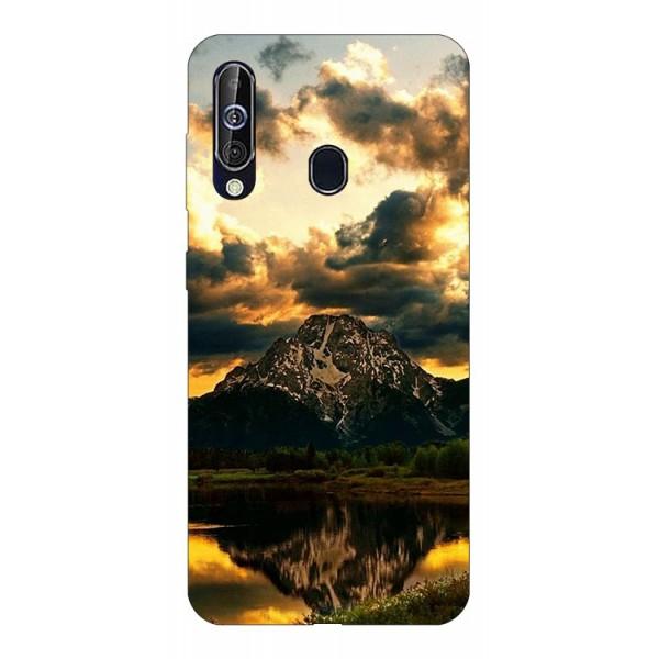 Husa Silicon Soft Upzz Print Samsung Galaxy A60 Model Apus imagine itelmobile.ro 2021