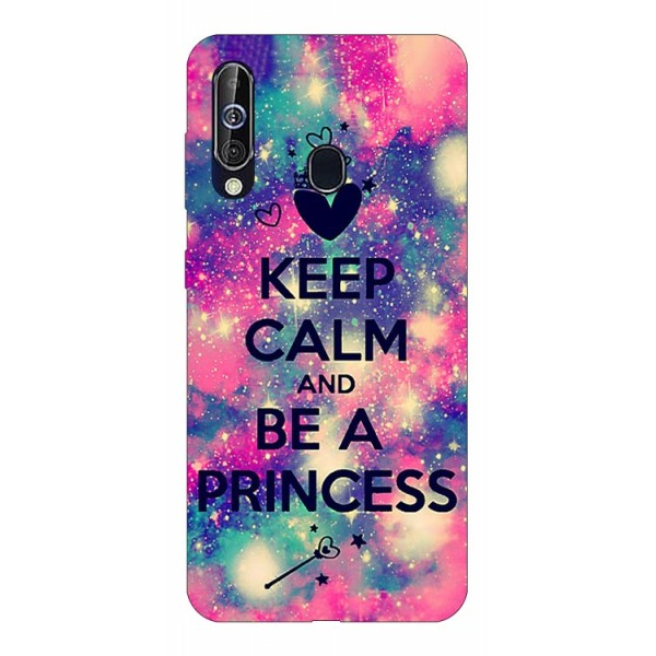 Husa Silicon Soft Upzz Print Samsung Galaxy A60 Model Be Princess imagine itelmobile.ro 2021